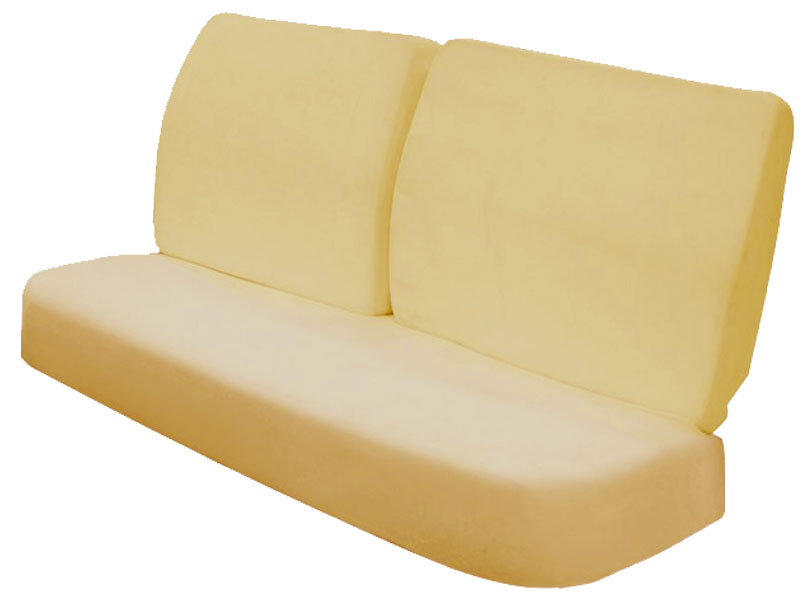 chevelle front bench seat foam cushions
