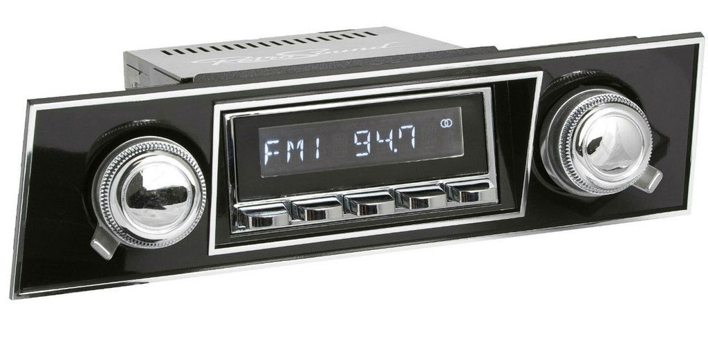 1967-68 Camaro Radio with Black Bezel