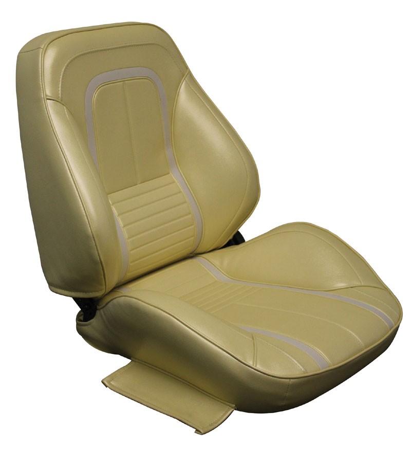 1967 Camaro Deluxe Touring II Complete Front Bucket Seats