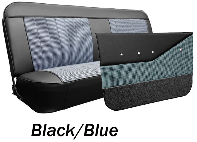Comfortable 1969 72 Chevy Gmc Truck Houndstooth Bench Seat Cover