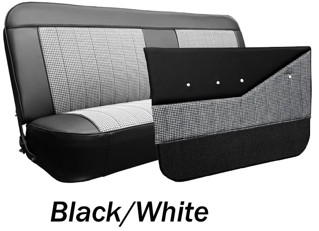 1969 72 Chevy Amp Gmc Truck Houndstooth Bench Seat Cover