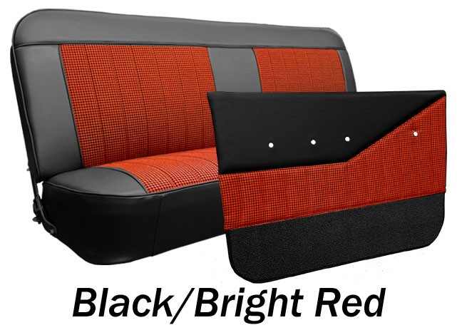 Stupendous 1969 72 Chevy Gmc Truck Houndstooth Bench Seat Cover Gmtry Best Dining Table And Chair Ideas Images Gmtryco