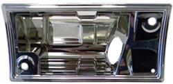 1973-84 Fullsize Chevy & GMC Truck Dome Light Bezel Housing 1st Series
