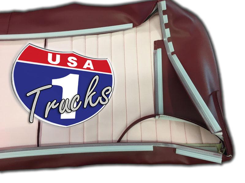 Pleasant 1980 86 F Series Ford Truck Vinyl Cloth Bench Seat Cover Inzonedesignstudio Interior Chair Design Inzonedesignstudiocom