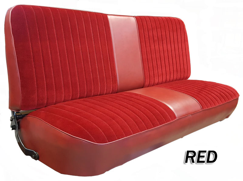 1980 86 F Series Ford Truck Vinyl Amp Cloth Bench Seat Cover
