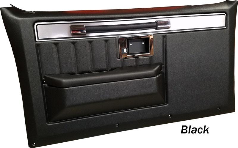 1981 87 Fullsize Chevy Gmc Truck Complete Custom Deluxe Door Panels With Molding Interior Door Panels Usa1 Interiors