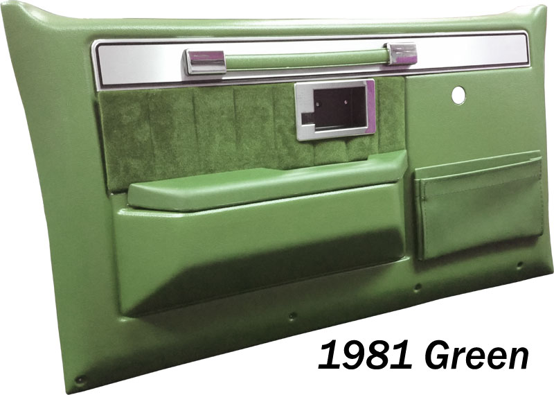 198187 Fullsize Chevy Truck Silverado Door Panels Interior Door