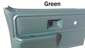1977-80 Fullsize Chevy & GMC Truck Custom Deluxe Door Panels